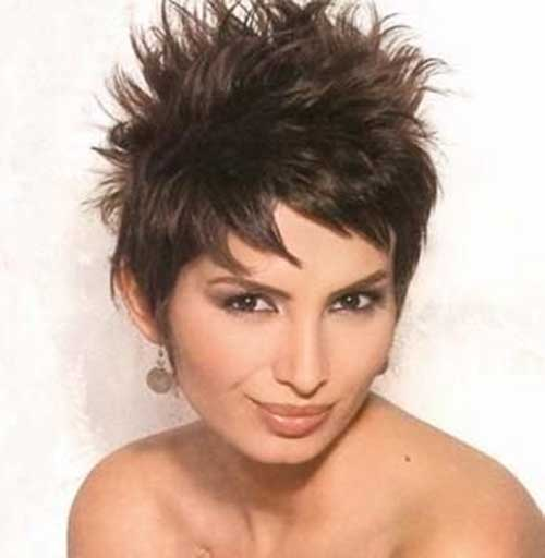 Short Spiky Cut Idea for Women