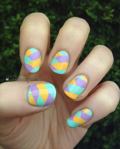 20 Simple Easy Cool Easter Nail Art Designs Ideas Trends Stickers 2015 14 20 Simple, Easy & Cool Easter Nail Art Designs, Ideas, Trends & Stickers 2015