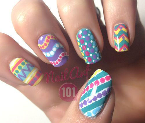 15 Easter Egg Nail Art Designs Ideas Trends Stickers 2015 9 15+ Easter Egg Nail Art Designs, Ideas, Trends & Stickers 2015