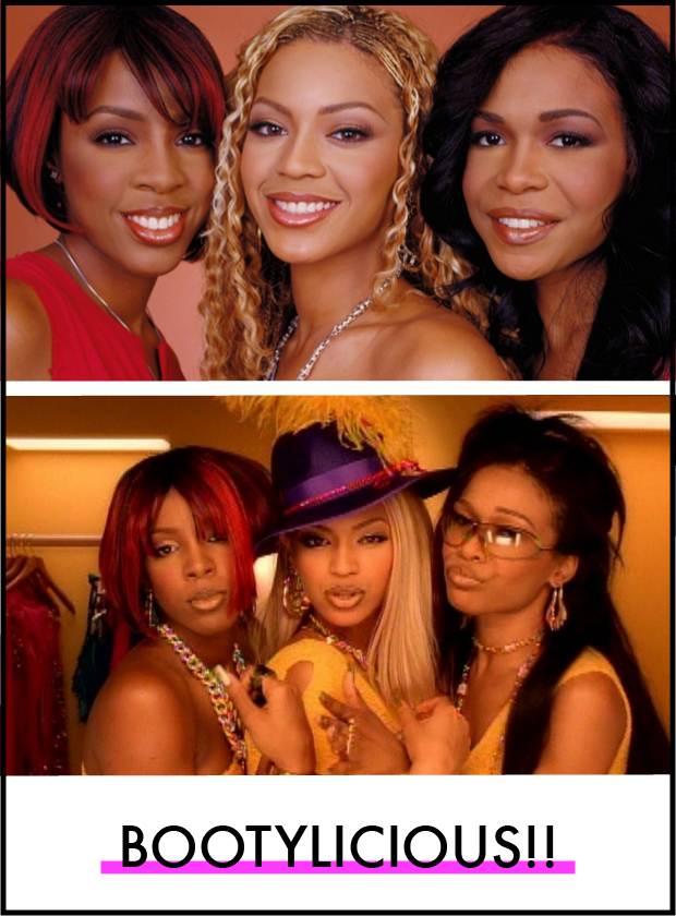 Destiny's Child Hair