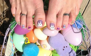 Easter Toe Nail Art Designs, Ideas, Trends & Stickers 2015