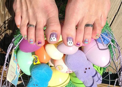 Easter Toe Nail Art Designs Ideas Trends Stickers 2015 1 Easter Toe Nail Art Designs, Ideas, Trends & Stickers 2015