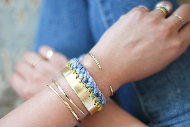 DIY Braided Cuff