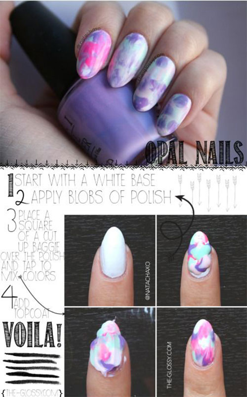 Easy Step By Step Spring Nail Art Tutorials For Beginners Learners 2015 6 Easy Step By Step Spring Nail Art Tutorials For Beginners & Learners 2015