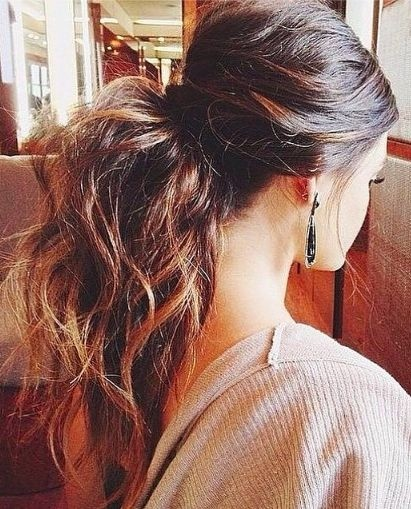 Easy Ponytail for Everyday Hairstyles