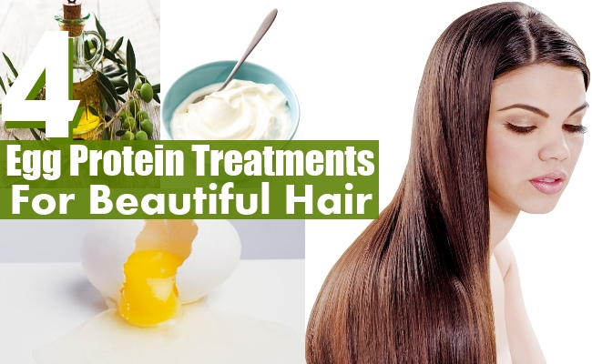 Egg Protein For Beautiful Hair