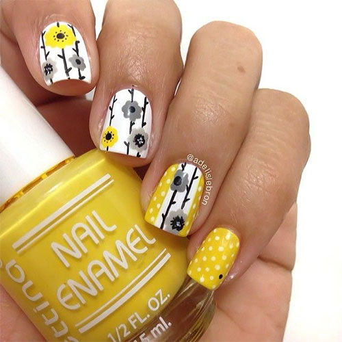 15 Spring Flower Nail Art Designs Ideas Trends Stickers 2015 6 15+ Spring Flower Nail Art Designs, Ideas, Trends & Stickers 2015
