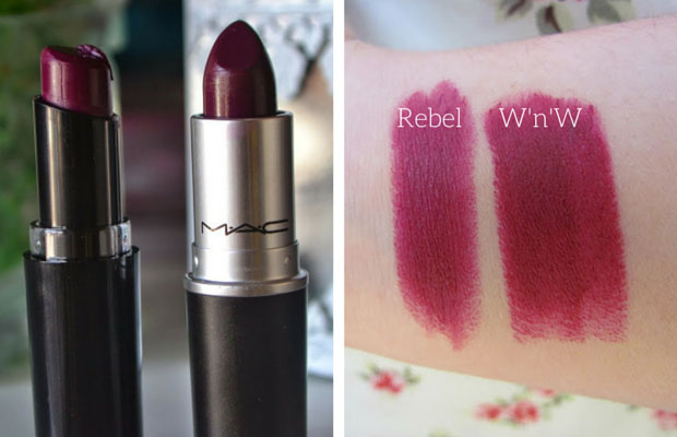 MAC Rebel Wet n Wild Dupe