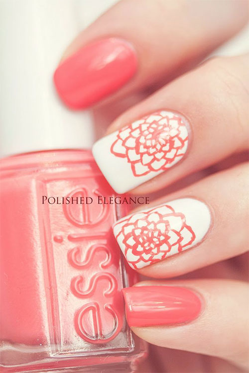 15 Spring Flower Nail Art Designs Ideas Trends Stickers 2015 8 15+ Spring Flower Nail Art Designs, Ideas, Trends & Stickers 2015