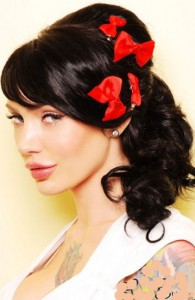 Pin Up Hairstyles For Long Hair Pictures