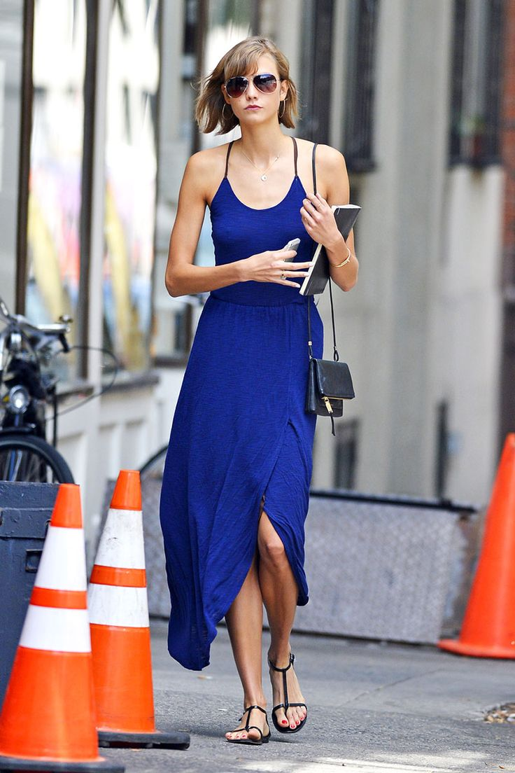 simple summer look The Best Street Style Outfits from Karlie Kloss