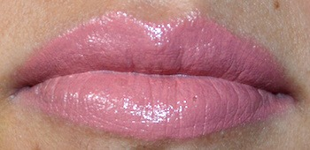 Urban Decay Naked Revolution lipstick lip swatch
