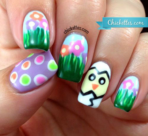 Cute Easter Gel Nail Art Designs Ideas Trends Stickers 2015 7 Cute Easter Gel Nail Art Designs, Ideas, Trends & Stickers 2015