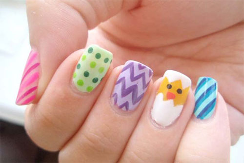 Inspiring Easter Acrylic Nail Art Designs Ideas Trends Stickers 2015 9 Inspiring Easter Acrylic Nail Art Designs, Ideas, Trends & Stickers 2015
