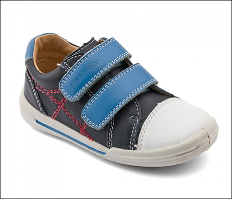 Duchess Kate Middleton purchased new sneakers for Prince George on March 19 at Trotters in London.