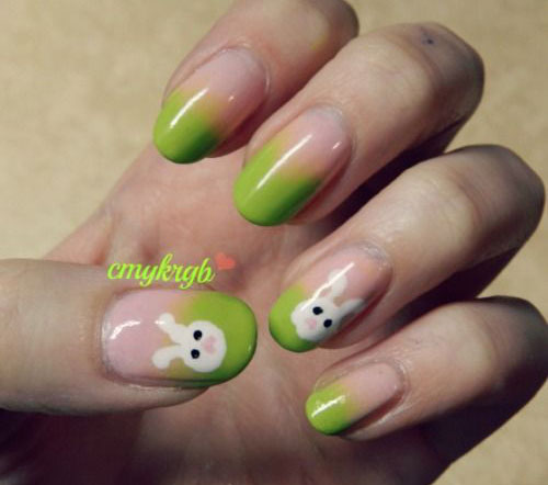 20 Simple Easy Cool Easter Nail Art Designs Ideas Trends Stickers 2015 13 20 Simple, Easy & Cool Easter Nail Art Designs, Ideas, Trends & Stickers 2015
