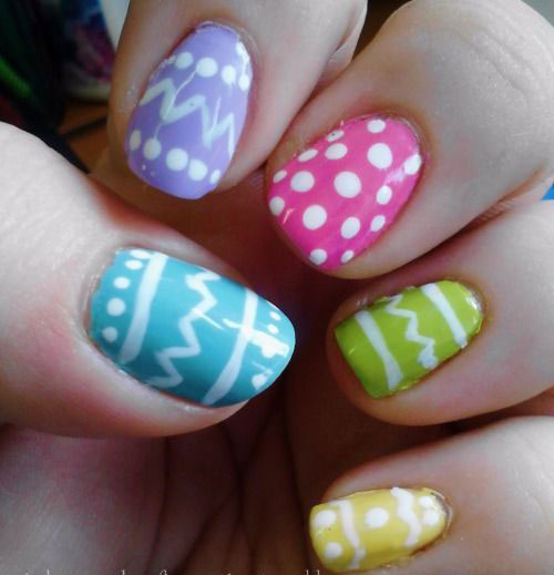 15 Easter Egg Nail Art Designs Ideas Trends Stickers 2015 2 15+ Easter Egg Nail Art Designs, Ideas, Trends & Stickers 2015