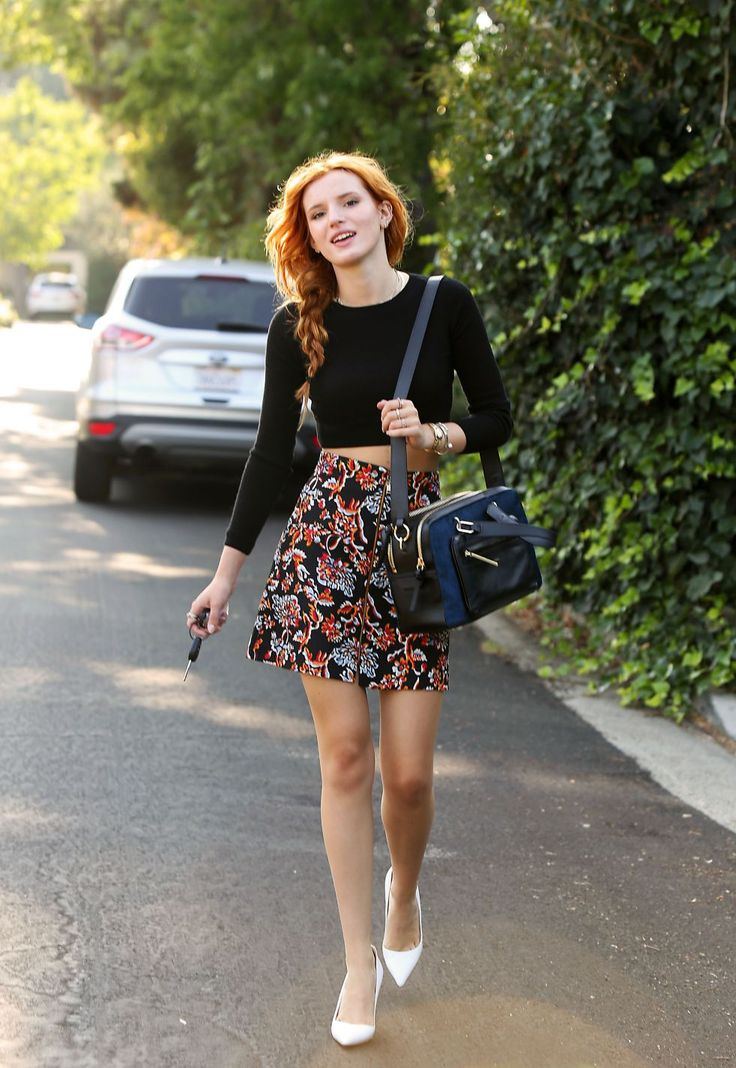 bella thorne street style Teen Fashion Icons Everyone Is Watching