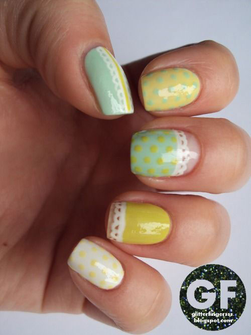 20 Simple Easy Cool Easter Nail Art Designs Ideas Trends Stickers 2015 19 20 Simple, Easy & Cool Easter Nail Art Designs, Ideas, Trends & Stickers 2015