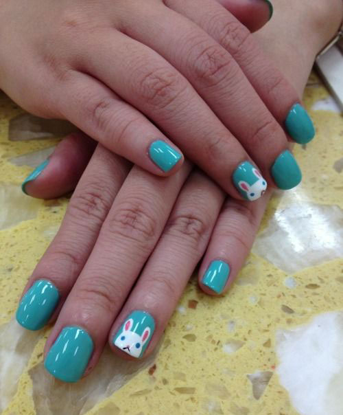 20 Simple Easy Cool Easter Nail Art Designs Ideas Trends Stickers 2015 1 20 Simple, Easy & Cool Easter Nail Art Designs, Ideas, Trends & Stickers 2015