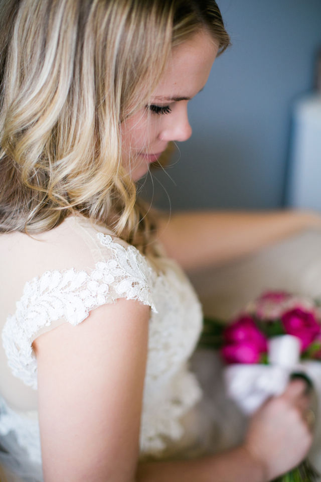 Custom wedding dress from Mayra at Emma and Grace Bridal Studio | Amy Caroline Photography | see more on: http://burnettsboards.com/2015/03/coutrney-real-bride-custom-wedding-dress/