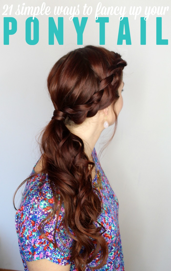 21 cute ponytail styles