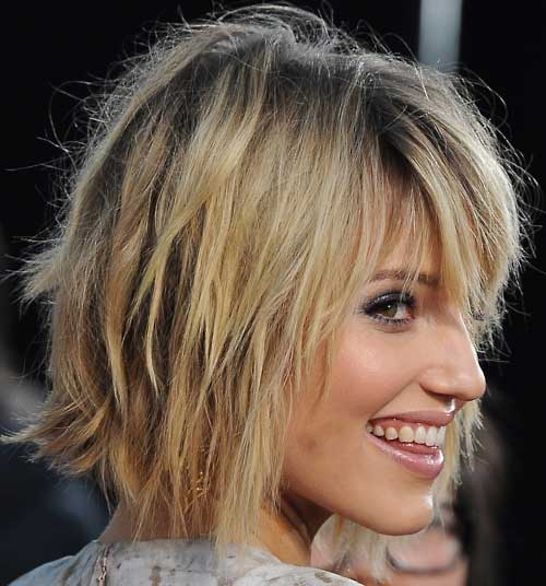 Dianna Agron Short Hairstyle