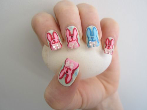 20 Easter Bunny Nail Art Designs Ideas Trends Stickers 2015 17 20 Easter Bunny Nail Art Designs, Ideas, Trends & Stickers 2015