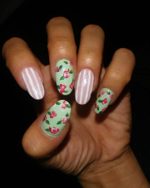 15 Easy Spring Nail Art Designs Ideas Trends Stickers 2015 11 15 Easy Spring Nail Art Designs, Ideas, Trends & Stickers 2015