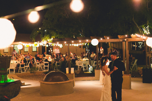 Outdoor Wedding Reception Arizona