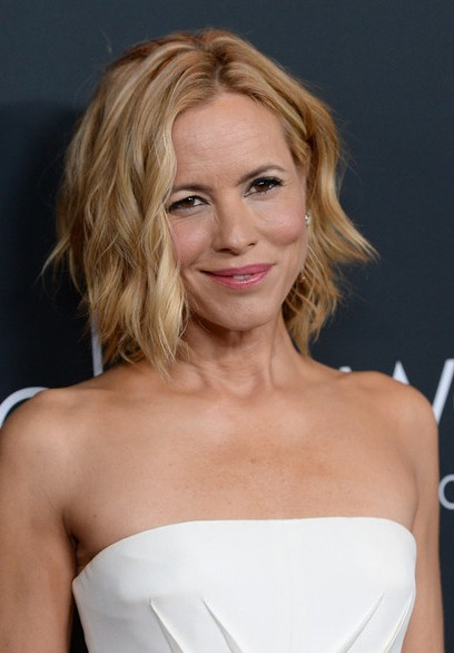 Maria Bello Short Hairstyle 2014