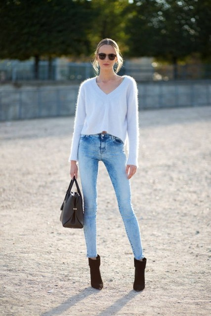 best shoes to wear with skinny jeans (20)