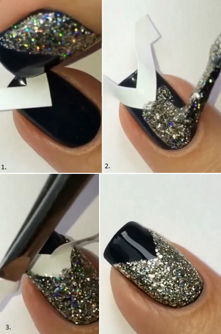 DIY Manicure For New Year's Eve