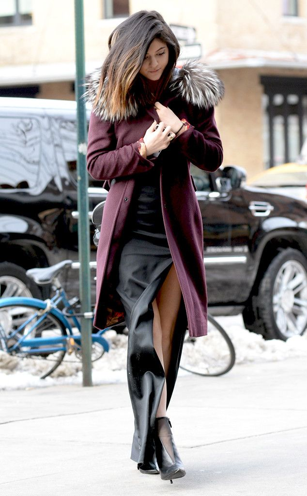 kylie jenner winter style Teen Fashion Icons Everyone Is Watching