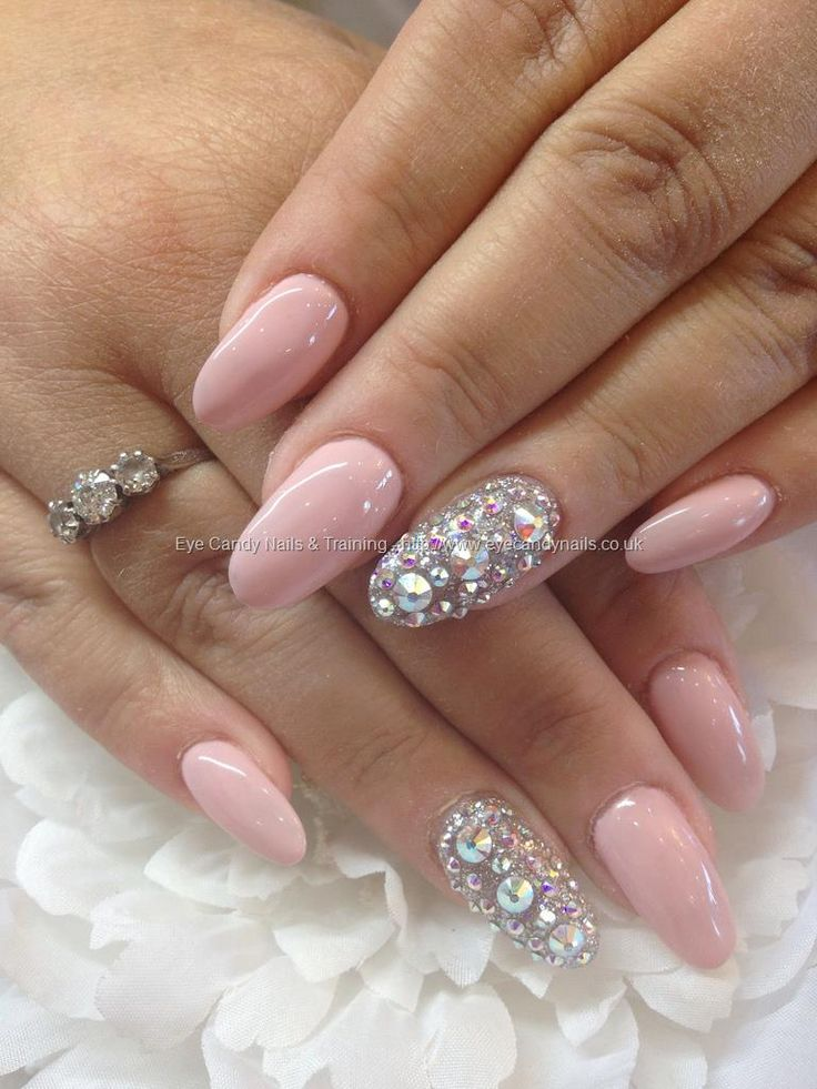 Baby Pink with Silver