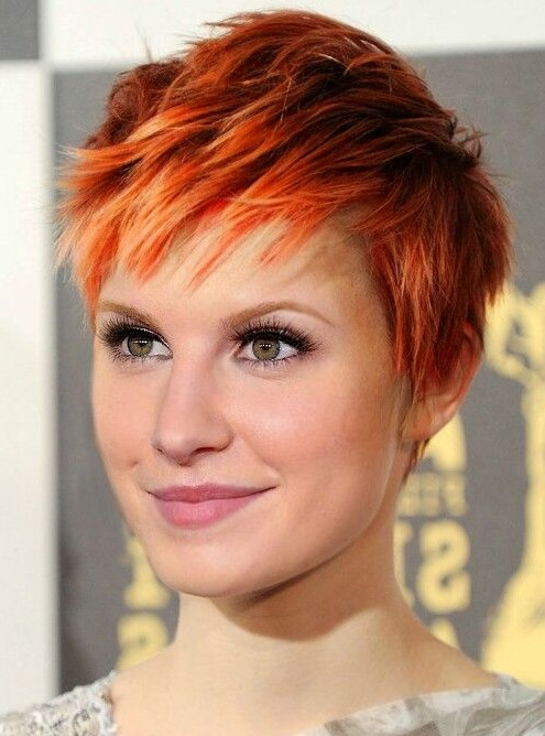 Pixie Cut for Red Hair