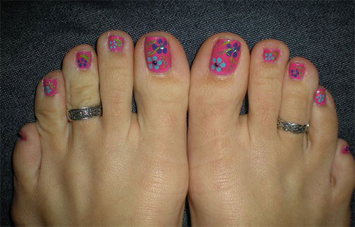 10 Spring Toe Nail Art Designs Ideas Trends Stickers 2015 5 10+ Spring Toe Nail Art Designs, Ideas, Trends & Stickers 2015