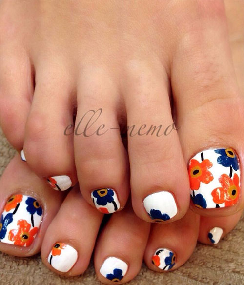 10 Spring Toe Nail Art Designs Ideas Trends Stickers 2015 11 10+ Spring Toe Nail Art Designs, Ideas, Trends & Stickers 2015