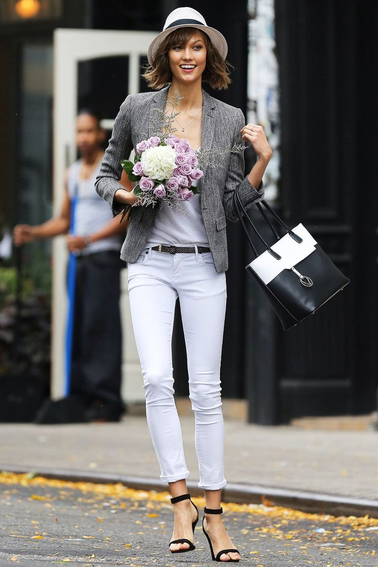 cute fall outfit The Best Street Style Outfits from Karlie Kloss