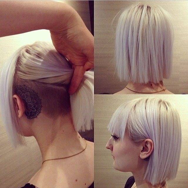 Straight Bob with Blunt Cut