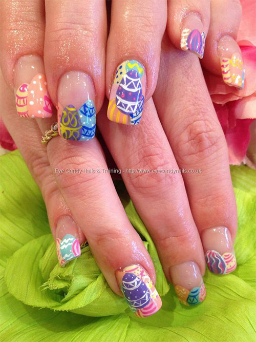 Inspiring Easter Acrylic Nail Art Designs Ideas Trends Stickers 2015 1 Inspiring Easter Acrylic Nail Art Designs, Ideas, Trends & Stickers 2015