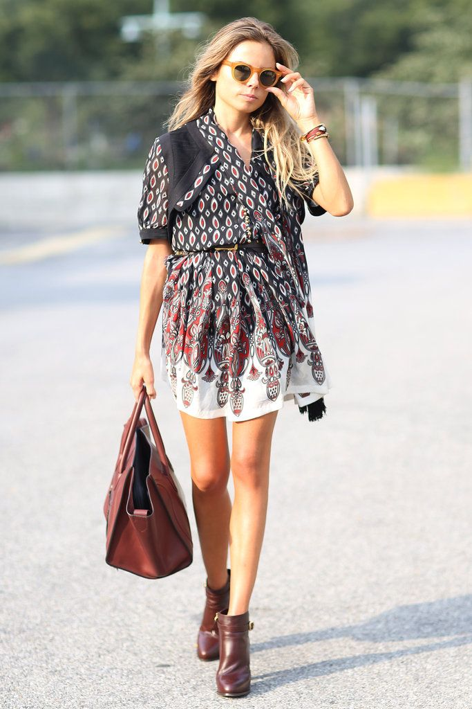 boho street style outfit How to Come Up With Your Own Unique Style