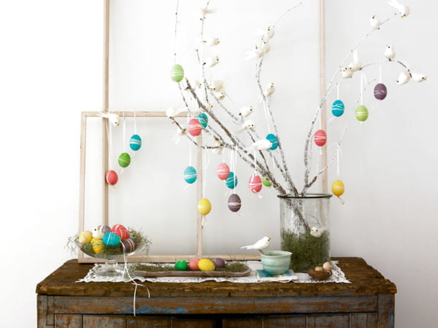 Easter Egg Table Decoration