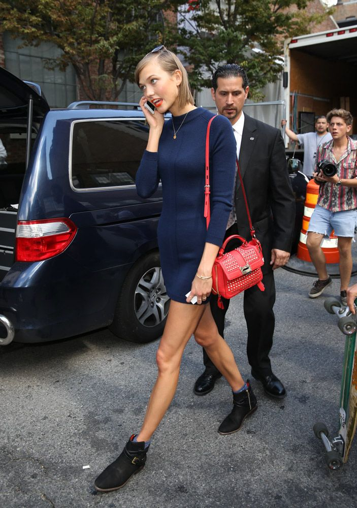 mad for mod outfit The Best Street Style Outfits from Karlie Kloss