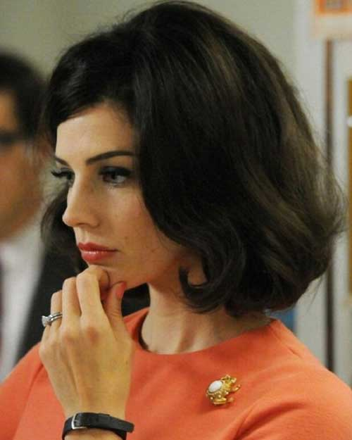 Jessica Paré Thick Wavy Hairstyles