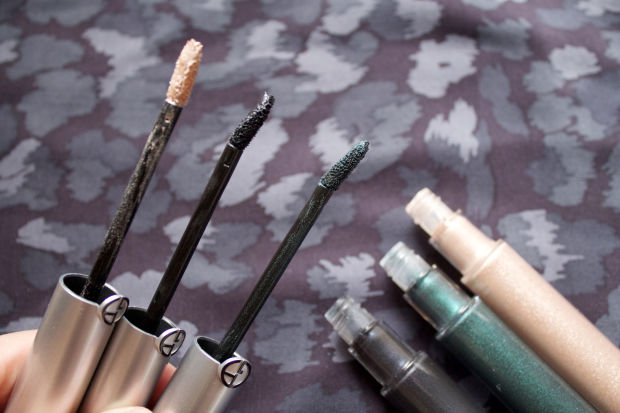 The lip gloss-like wands of the new Giorgio Armani Eye Tints.