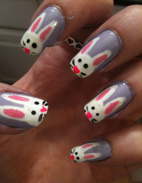 20 Easter Bunny Nail Art Designs Ideas Trends Stickers 2015 11 20 Easter Bunny Nail Art Designs, Ideas, Trends & Stickers 2015