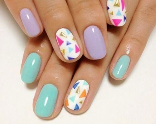 15 Easy Spring Nail Art Patterns Suggestions Trends Stickers