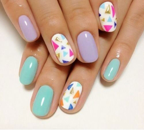15 Easy Spring Nail Art Designs Ideas Trends Stickers 2015 1 15 Easy Spring Nail Art Designs, Ideas, Trends & Stickers 2015