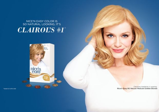 Christina Hendricks stars in this new ad for Clairol.